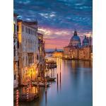 EUROART Wandbild 60 x 80 cm Beautiful Venice III Holz Violett