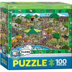 Eurographics Spot and Find a Day in The Zoo MO Puzzle (100 Teile)