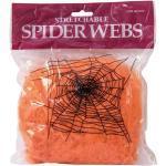 Orange Europalms Spinnennetze mit Halloween-Motiv
