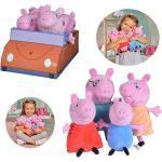 Exklusiver Aktionspreis Nur Bei Idealo: Simba® Peppa Pig 4-Tlg. Familienset Plüschfigur Im Auto