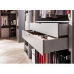 Express Solutions Schubkasteneinsatz grau Zubehör für Kleiderschränke Möbel