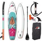 F2 SUP-Board Feel Free weiß Ausrüstung Stand Up Paddle Sportarten