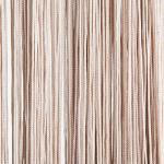 Fadenvorhang Waterfall 100 x 250 cm, Farbe:champagner