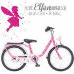 Fahrrad Aufkleber Set Elfen 80st Feen Punkte M1124