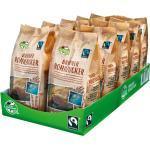 Fair Trade Brauner Rohrzucker 500 g, 10er Pack