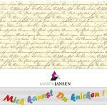 """Faltblätter """"Schriften"""", 15 x 15 cm, 60 Blatt"""