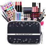 FantasyDay 28St Multifunktions Exquisite Kosmetik Geschenkset Make-up Schmink Kit für Gesicht, Augen und Lippen - Weihnachten Makeup Set mit Abdeckcreme Lidschatten Lippenstift Lipgloss Kosmetikpinsel