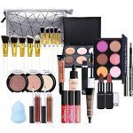 FantasyDay 28St Multifunktions Exquisite Kosmetik Geschenkset Make-up Schmink Kit für Gesicht, Augen und Lippen - Weihnachten Makeup Set mit Abdeckcreme Lidschatten Lippenstift Lipgloss Wimperntusche