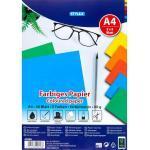 Farbiges Papier Intensivfarben 40 Blatt