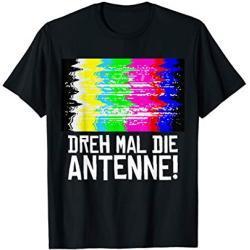 Fasching & Karneval - Testbild Lustiges 70er 80er Kostüm T-Shirt