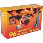 Favorit 1247 Ofenanzünder Kaminanzünder 5 Packungen a96 Anzündwürfel