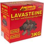 Favorit 3050 Original Lavasteine 3 kg für Gasgrill und Elektrogrill