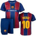 FC Barcelona 1st Team Kinder Training Trikot Komplet Set Messi 164 / 14