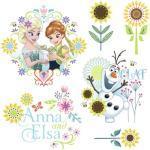 Fenstersticker Frozen Flower 31 x 31 cm