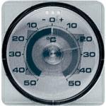 Fensterthermometer Messber.-50 b.50GradC T.17mm Ku. VE: 10
