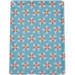 Fermob - CABANON Tablett Moulins à Vent - blau, rechteckig, Kunststoff - 28x3x20 cm - 46 lagunenblau (306646) 28 x 20 cm