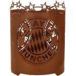 Ferrum Edelrost Feuerkorb FC Bayern München - rund, FCB-003