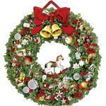 Festlicher Weihnachtskranz; Christmassy Wreath; La couronne de Noël