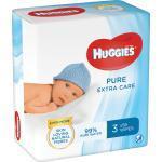 Feuchttücher Pure Extra Care 3er-Pack Huggies (168 St)