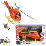 Feuerwehrmann Sam, Hubschrauber Wallaby mit Figur Tom