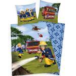 Feuerwehrmann Sam Kinderbettwäsche »«, mit Löschzug und Helikopter