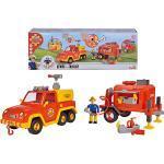 Feuerwehrmann Sam Venus mit Anhänger und Figur