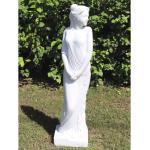 Weiße Lafiora Gartenfiguren & Gartenskulpturen