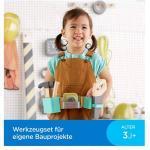 Fisher Price Werkzeuggürtel mit Spielzeug Werkzeug mit funktionierendem Maßband