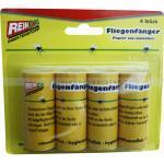 Fliegenfänger Reinex Klebefalle 4 Stück bekannt und bewährt, Klebe Fliegenfalle