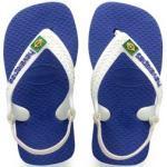 Flip Flops Havaianas Baby Brasil Logo II Marine Blue Kinder-Schuhgröße 21