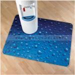 Floortex FC229220ECDR Colortex ultimat Motiv 120x 90 cm Polycarbonatmatte für Hartboden, Motiv: Wassertropfen