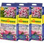 Floragard Aktiv Pflanzenerde für Balkon und Geranien 3 x 20 l