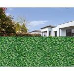 Floraworld Sichtschutzstreifen 20,5 m x 19 cm, grün / Blätteroptik (GLO692453143)