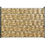 Floraworld Sichtschutzstreifen 20,5 m x 19 cm, Sandsteinoptik (GLO692453140)