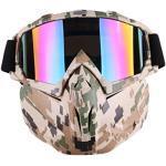 FOKOM Gesichtsmaske Maske Schutzmaske Paintball Maske für Nerf Rival