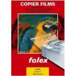 Folex Kopierfolie X-10.0 39100.100.44000, A4, für Kopierer, 0,1mm, Overhead-Folie, transparent klar, 100 Blatt
