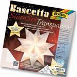 FOLIA 800/2020 20x20cm Bastelset Bascetta Stern weiß