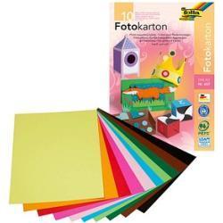 folia Fotokarton farbsortiert DIN A3 300 g/qm