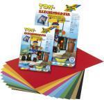 FOLIA Tonzeichenpapier A4 130g farbig sortiert 605