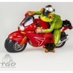 Formano Dekofigur Frosch hellgrün zur Auswahl 60 varianten Geschenk