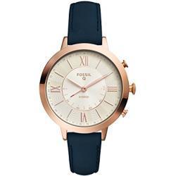 Fossil Damen Analog Quarz Uhr mit Leder Armband FTW5014