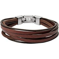 Fossil Herren Armband Brown Multi Wrap JF03184040