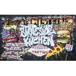 Fototapete 2154 P8 Papier Graffiti Kitchen 368 x 254 cm