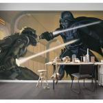 Fototapete StarWars RMQ Vader vs Luke