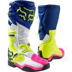 FOX Comp 8 Motocross Stiefel 2016, weiss-blau, Größe 51 52, weiss-blau, Größe 51 52