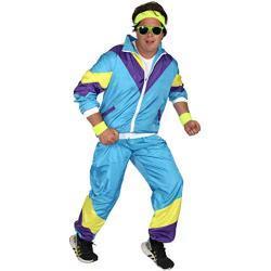 Gelbe Foxxeo 80er Jahre Kostüme für Herren
