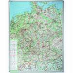 Franken Straßenkarte Deutschland 140x100cm magneth.