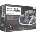 FRANZIS BMW R 90 S 1973 Boxermotor Modellbausatz 200 Teile, Maßstab 1:2 Bmw R 100 Rt