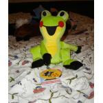 Frosch sitzend- Der kleine Maulwurf und seine Freunde