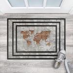 Bunte Shabby Chic Bilder-Welten Fußmatten